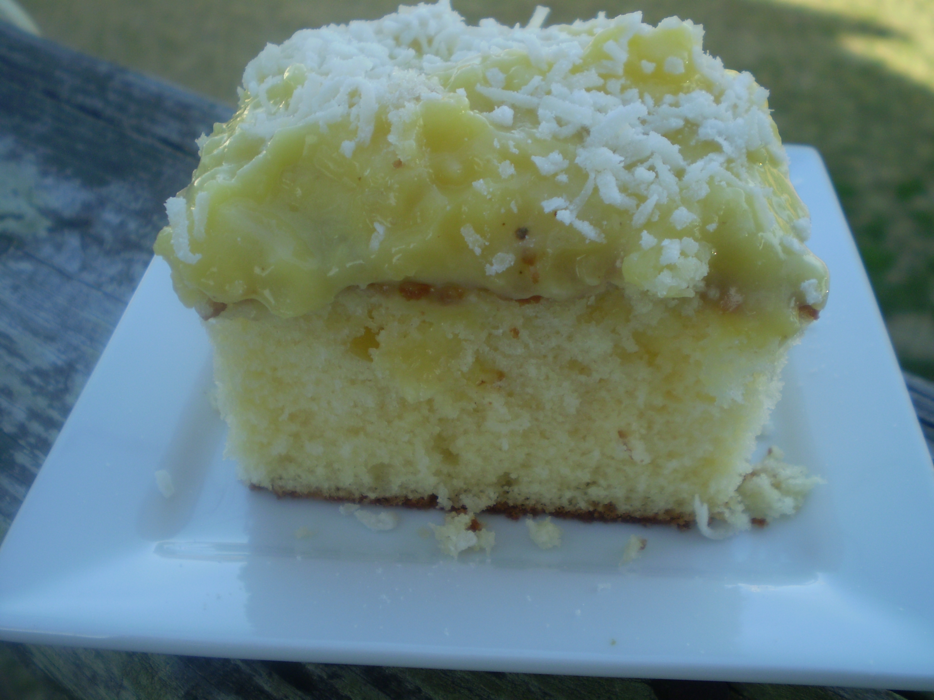 Tropical pineapple cake recipes