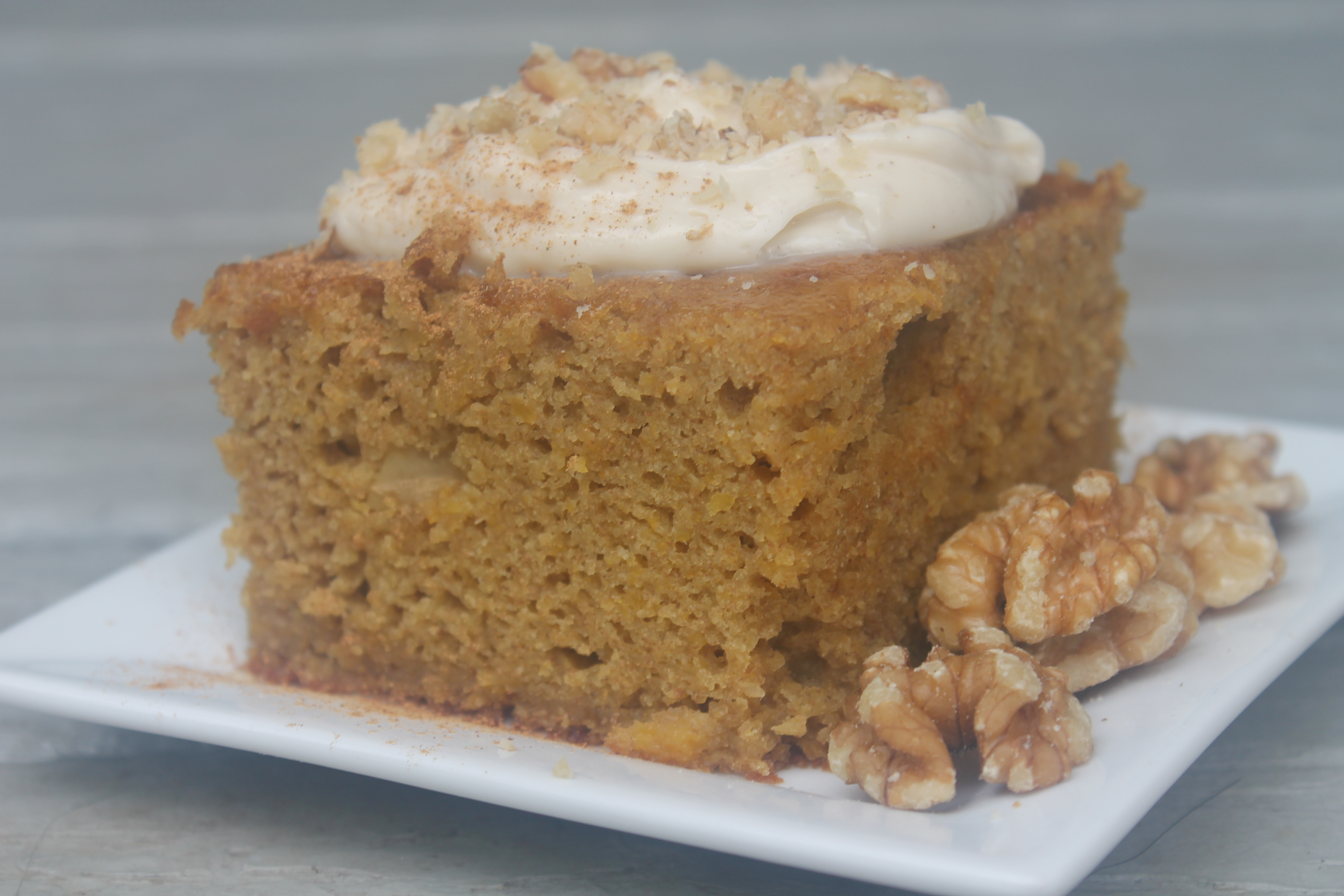 Butternut Cake Made With Cake Mix