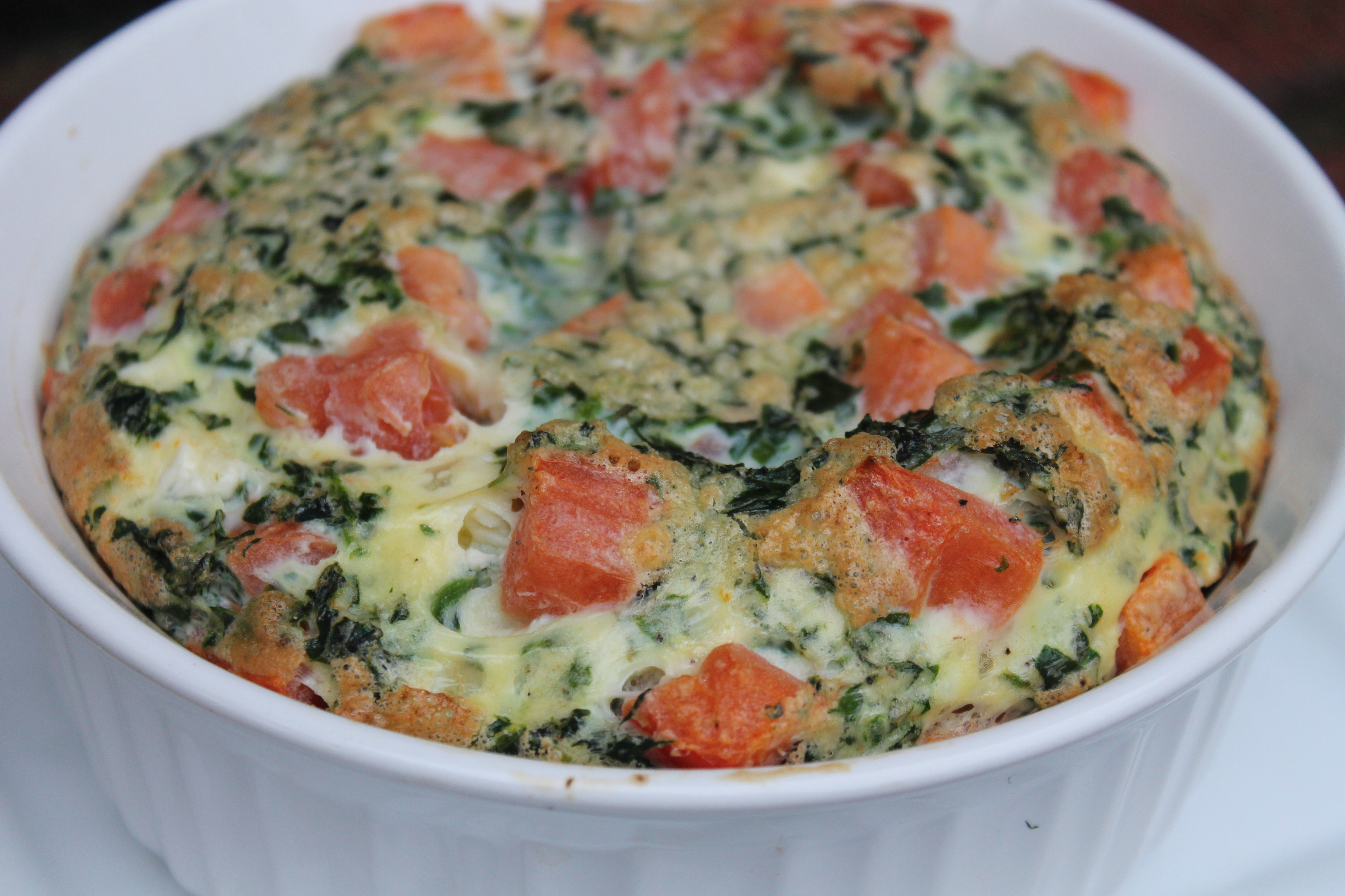 ... dried tomatoes and feta cheese spinach and feta frittata recept yummly