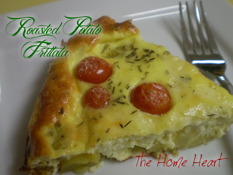 Roasted Potato Frittata