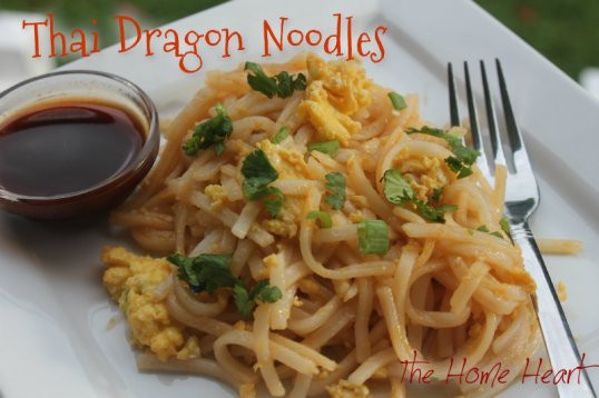 Thai Dragon Noodles