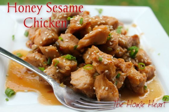 honey sesame chix
