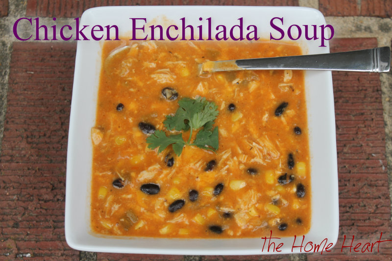 Chicken Enchilada Soup #2 | The Home Heart