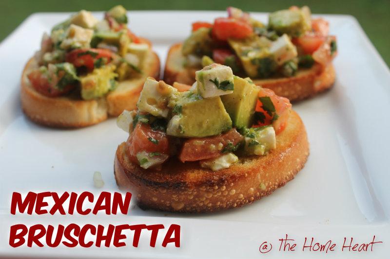 mexi-bruschetta